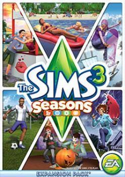 The Sims 3 Cztery Pory Roku - Klucz aktywacyjny Origin