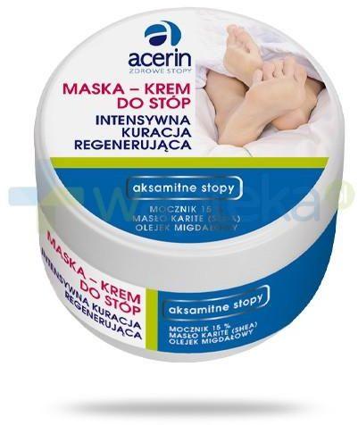 Acerin maska krem do stóp intensywna kuracja regenerująca 125 ml