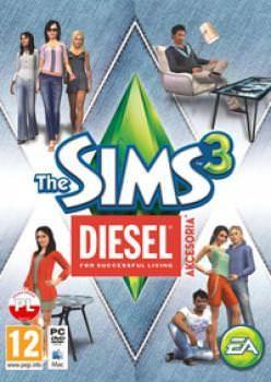 The Sims 3 Diesel akcesoria - Klucz aktywacyjny Origin Automatyczna wysyłka w ciągu 5 minut 24/7!