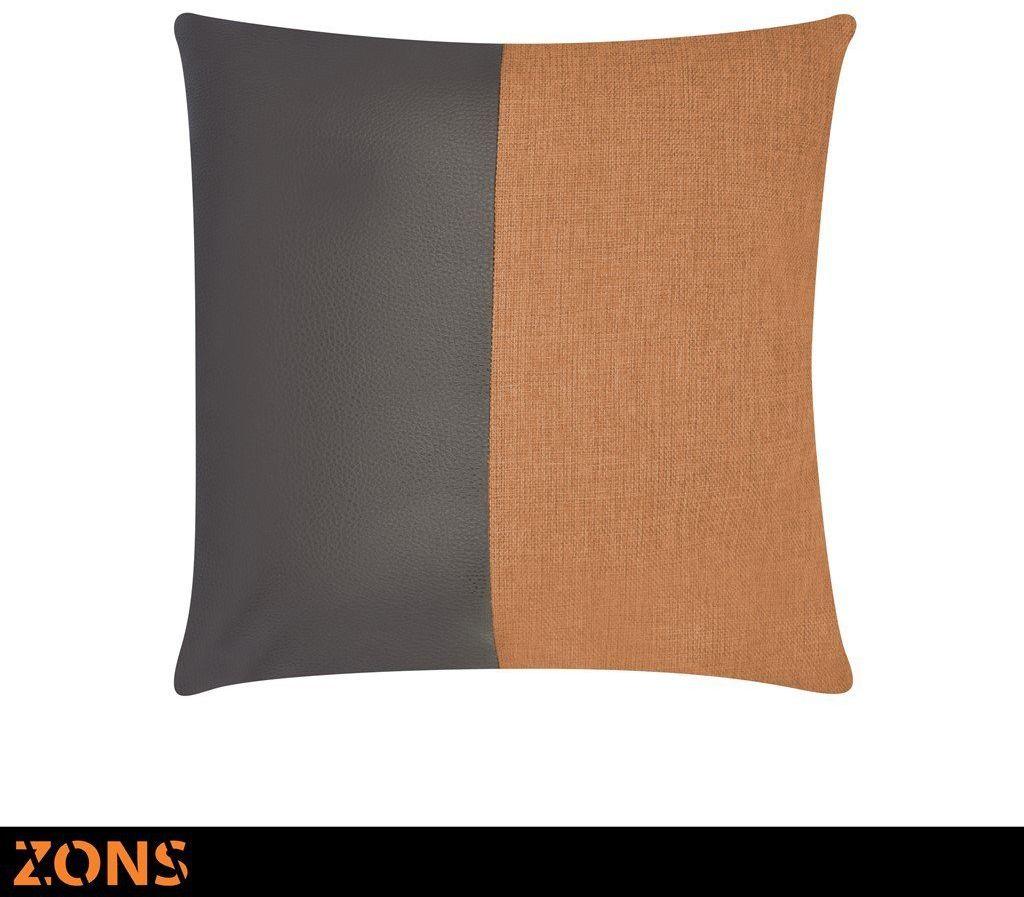 Poduszka 45 x 45 cm 6 kolorów + wypełnienie 480 g (pomarańczowe)