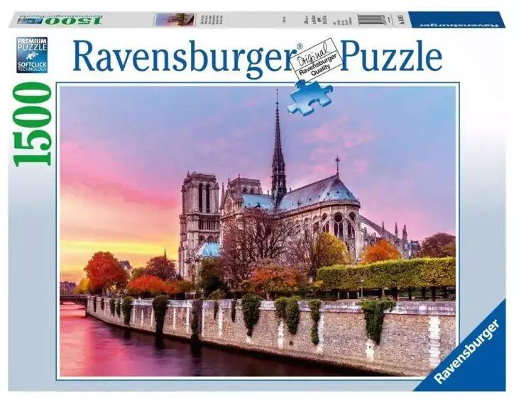 Puzzle 1500 Malownicze Notre Dame