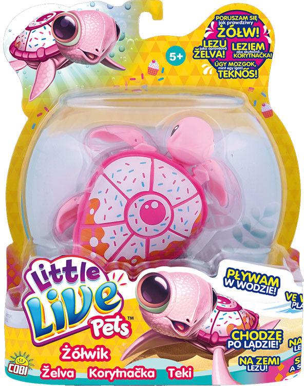 Little Live Pets - Interaktywny Żółwik Deser Lodowy 28095