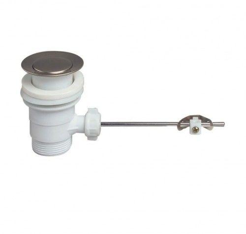 Spust syfonu umywalki z korkiem automatycznym, 1 1/4'' x 63 mm, z przelewem