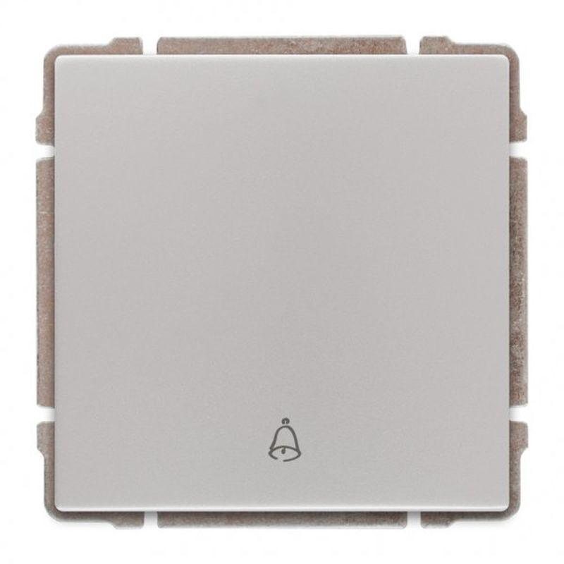 KOS66 Przycisk /dzwonek/ aluminium 664014