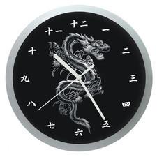 Zegar ścienny Chiński Smok