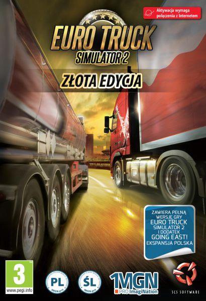 Euro Truck Simulator 2 Złota Edycja - Klucz aktywacyjny Steam Automatyczna wysyłka w ciągu 5 minut 24/7!