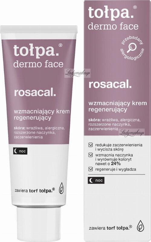Tołpa - Dermo Face Rosacal - Wzmacniający krem do twarzy na noc - 40 ml