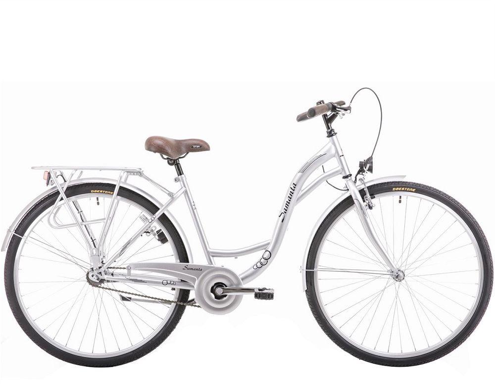 Rower Arkus Samanta 26 R18 M Da 2020 srebrny