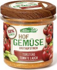 Pasta warzywna z pomidorem i porem bezglutenowa BIO 135g Allos