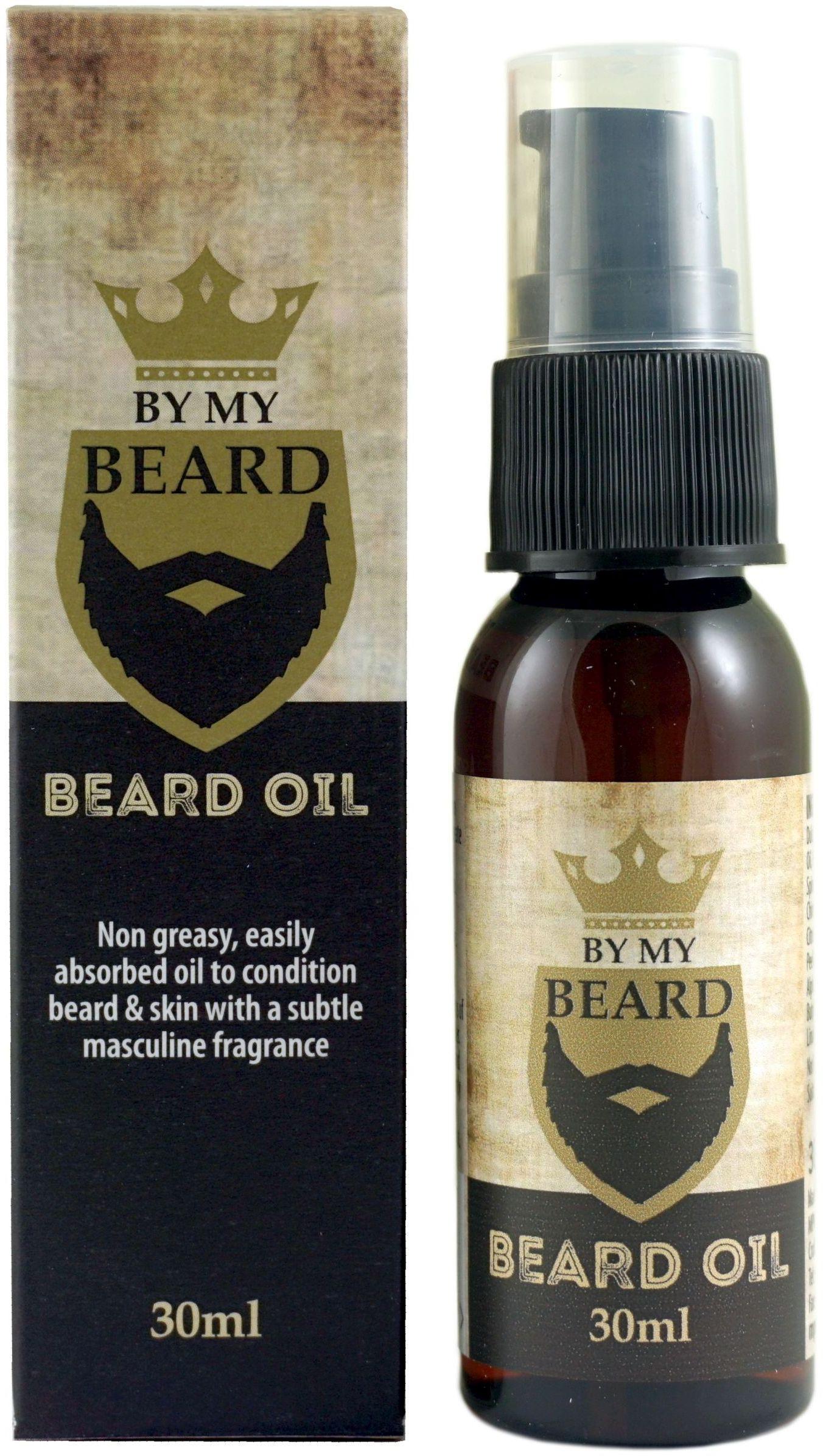 Olejek do Pielęgnacji Brody i Zarostu - 30ml - By My Beard