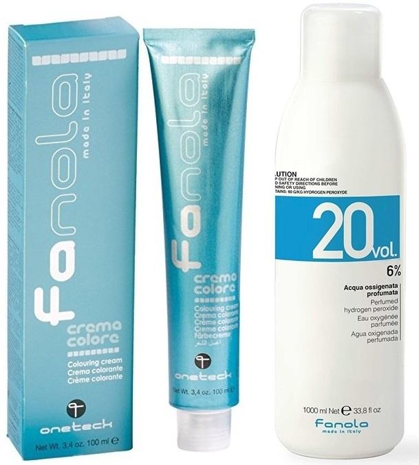Fanola Farba 100ml + oxydant 150ml