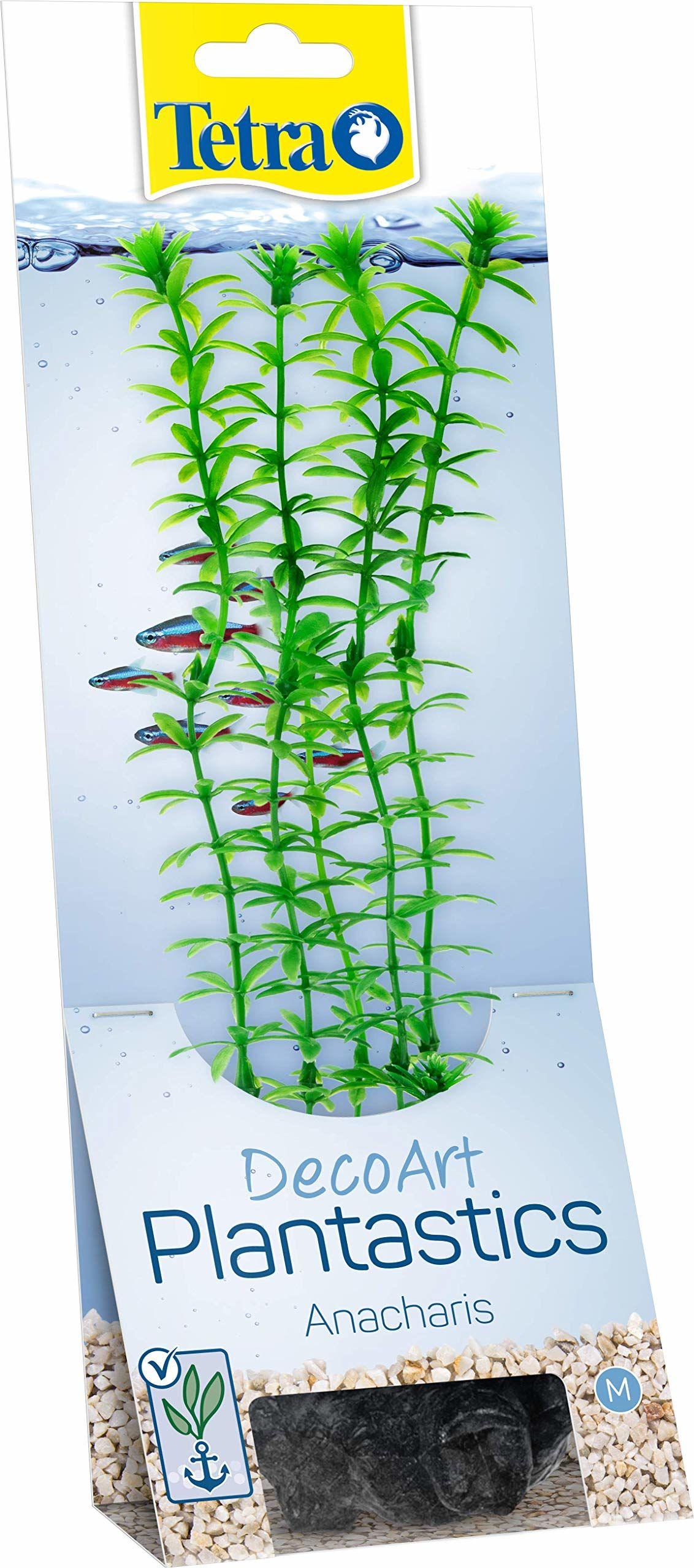 Tetra DecoArt sztuczne rośliny wodne do akwarium, wierna replika, zielona Anacharis