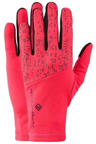 RONHILL Rękawiczki biegowe NIGHTRUNNER GLOVE różowe