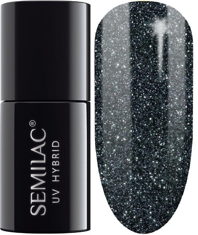 SEMILAC 096 Starlight Night UV LED Lakier Hybrydowy 7ml