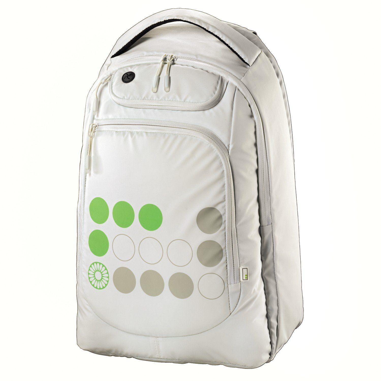 "Hama ""aha"" laptop plecak 40 cm kzielony / biały"
