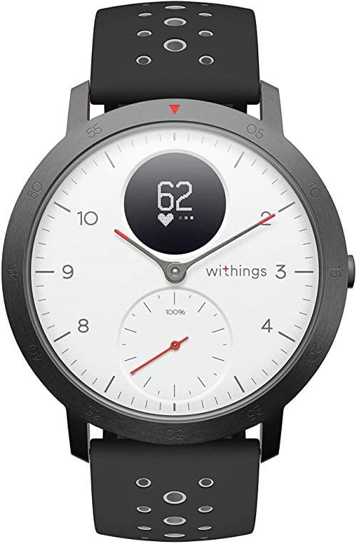 Withings Steel HR Sport - Multisport Hybrid Smart Watch biały biały 40mm