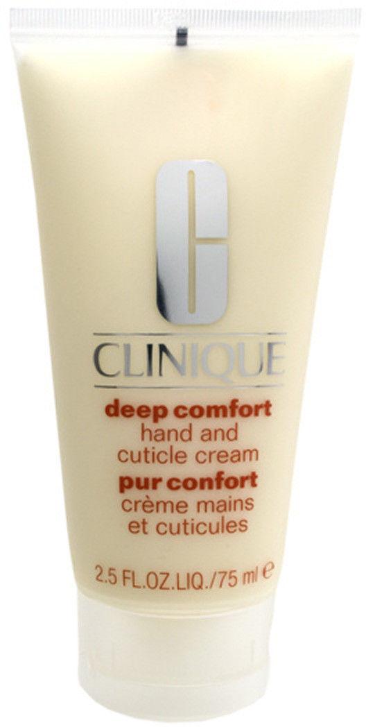 Clinique Deep Comfort krem głęboko nawilżający do rąk, paznokci i skórek 75 ml