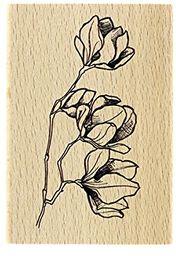 Florilèges fg117085 kwiaty wzór drewniana podkładka na guziki 10 x 7 x 2,5 cm
