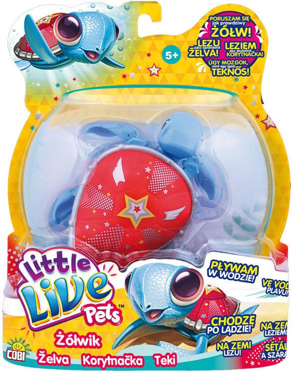 Little Live Pets - Interaktywny Żółwik Super Bohater 28095
