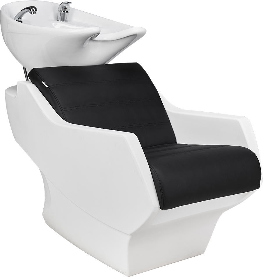Myjnia fryzjerska Ayala Techno dostępna w 48h z białą miską i obudową