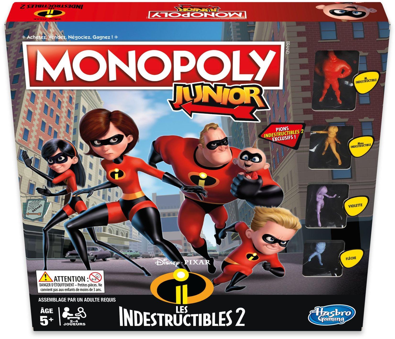 Monopoly  niezniszczalna gra dla juniorów  gra planszowa  E1781