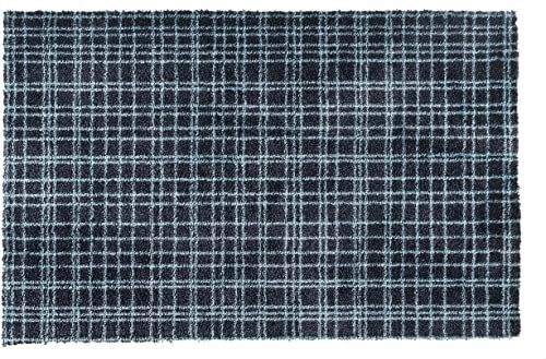 Wycieraczka Fusion Dry z poliamidu, nadaje się do prania, 80 x 120 cm, błękit lazurowy