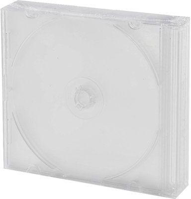 Pudełko na płyty CD/DVD HEITECH 5 szt. Slim Matowy