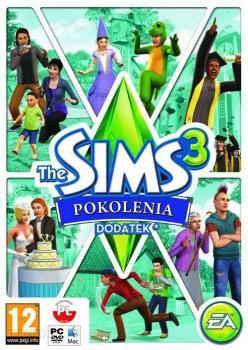 The Sims 3 Pokolenia - Klucz aktywacyjny Origin