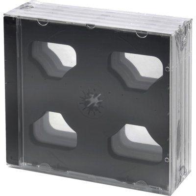 Pudełka na 2 płyty CD HEITECH 5 szt.