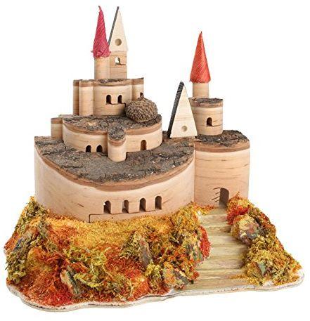 Legler Castle of Wood Courtyard figurki zestawy do zabawy i dostęp