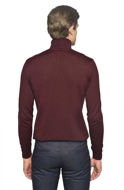 sweter wenlock golf bordo