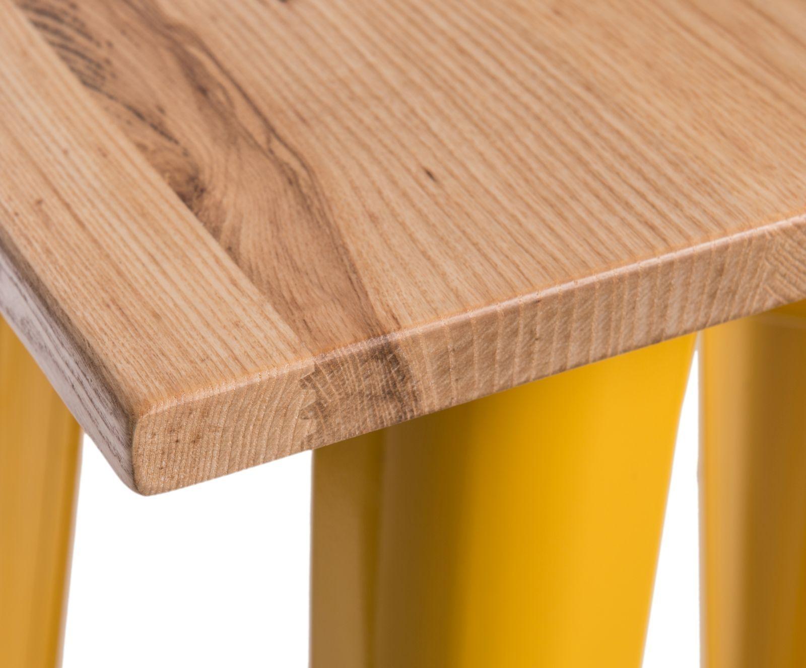 D2 Stół barowy Paris Wood żółty jesion