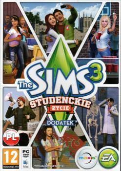 The Sims 3 Studenckie Życie - Klucz aktywacyjny Origin Automatyczna wysyłka w ciągu 5 minut 24/7!