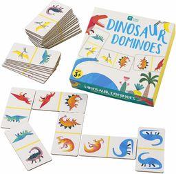 Talking Tables DINO dinozaur Domino gra, papier