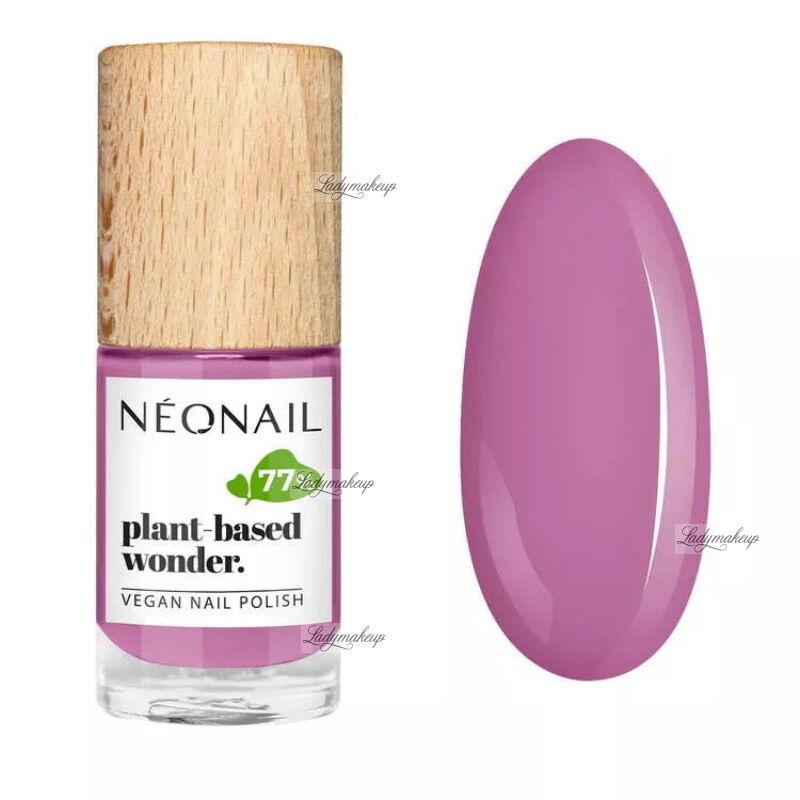 NeoNail - Plant-based wonder - Vegan Nail Polish - Wegański lakier do paznokci - 7,2 ml - 8676-7 - PURE PEONY