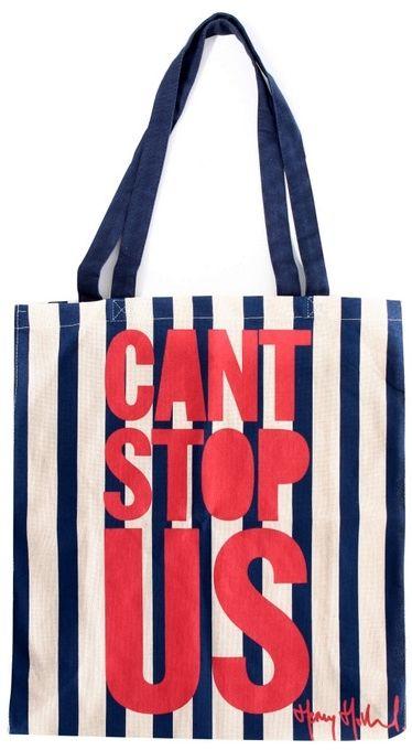 Torba bawełniana na zakupy CANT STOP US