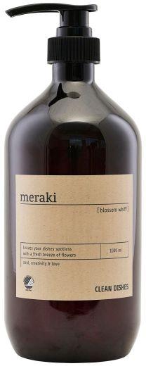 Meraki HOME Dozownik - Ekologiczny Płyn do Mycia Naczyń 1000 ml Blossom Whiff