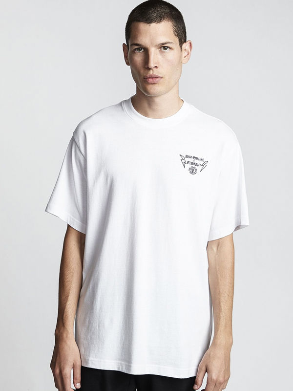 Element BOLT LOCK OPTIC WHITE koszulka męska