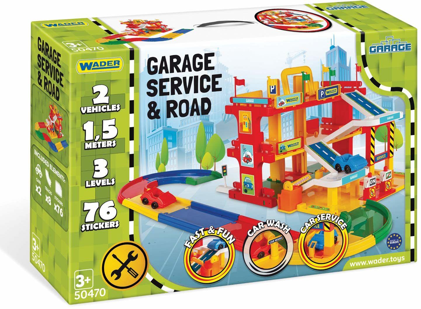 Garaż Serwis z drogą
