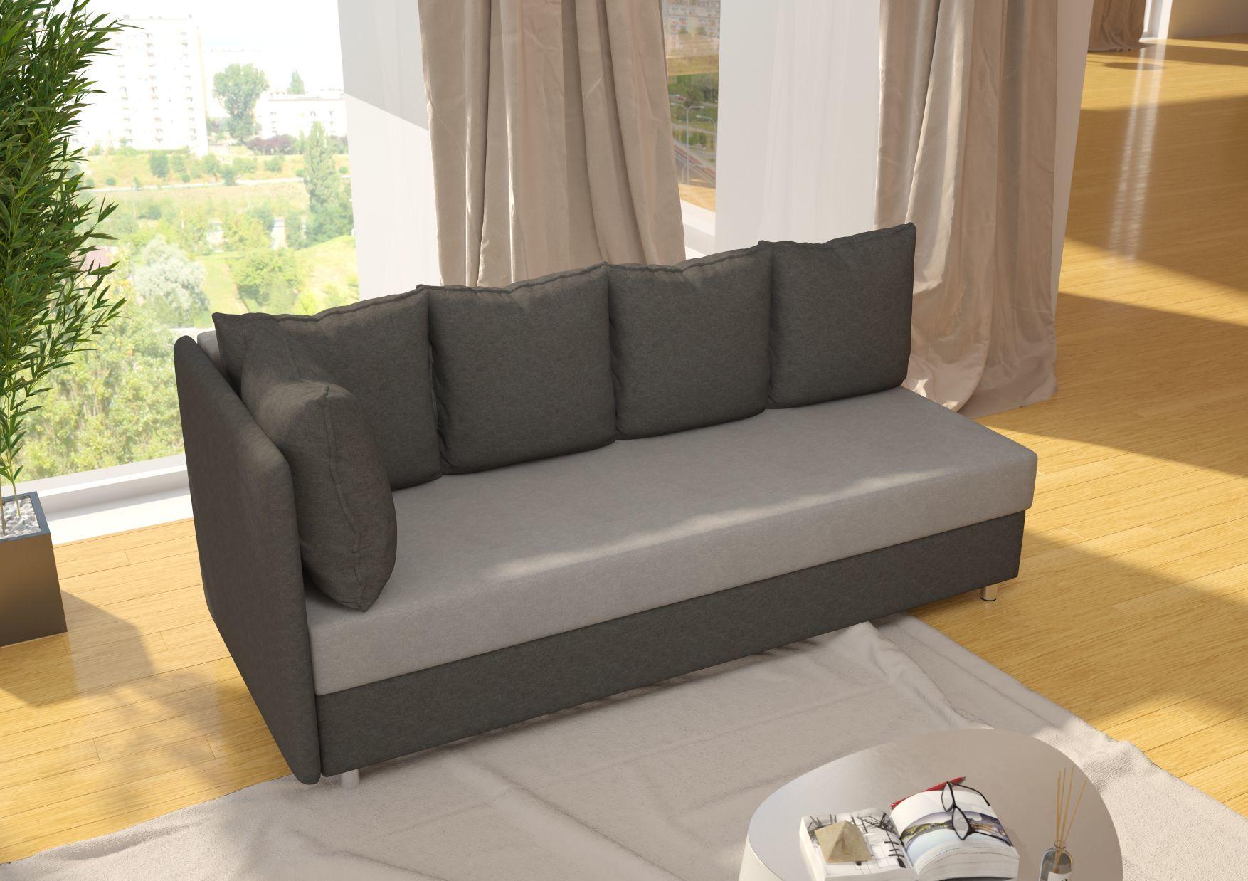 Sofa rozkładana z funkcją spania NIKO