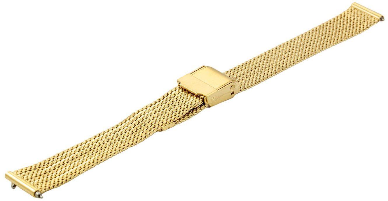 Bransoleta stalowa do zegarka 14 mm Bisset BM-104/14 Gold