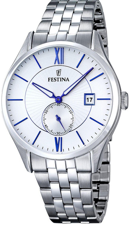 Zegarek Festina F16871-1 Classic - CENA DO NEGOCJACJI - DOSTAWA DHL GRATIS, KUPUJ BEZ RYZYKA - 100 dni na zwrot, możliwość wygrawerowania dowolnego tekstu.