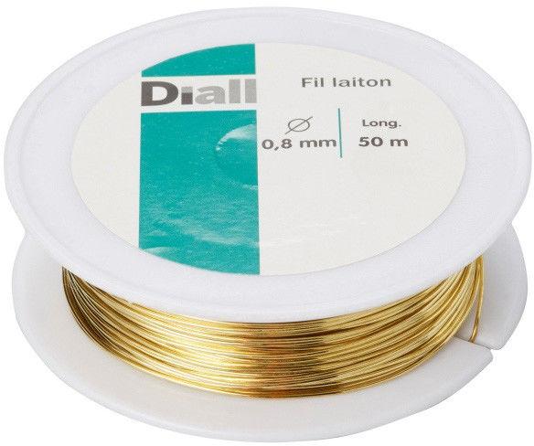 Drut mosiężny Diall 0,8 mm x 50 m