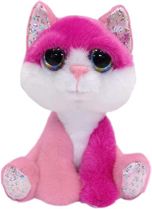 Gifts 11216 Li''l Peepers różowy kot pluszowe zwierzątko Medium