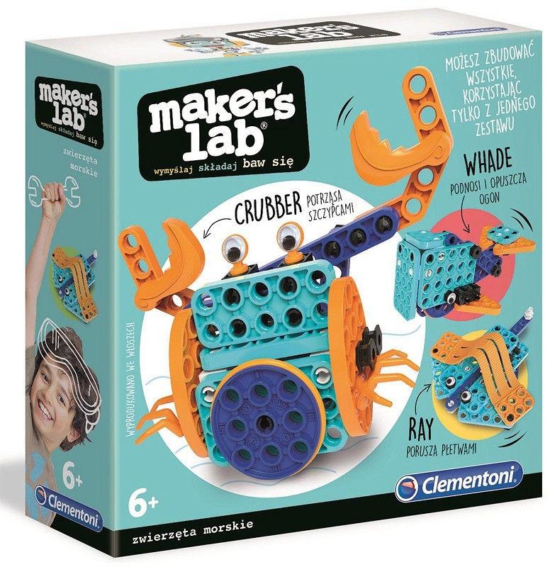 Zestaw kreatywny Makers Lab Zwierzęta Morskie