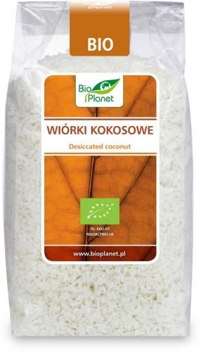 Wiórki kokosowe bezglutenowe BIO 200 g Bio Planet