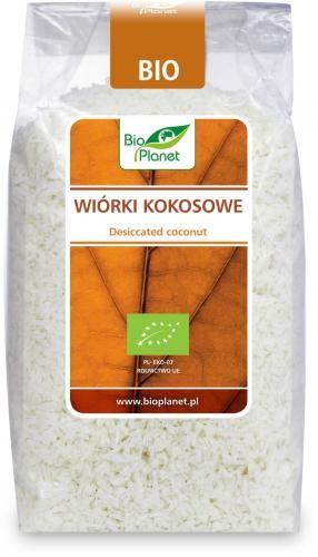Wiórki kokosowe bezglutenowe BIO 500 g Bio Planet