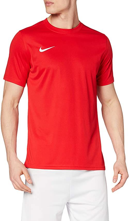Nike Męska koszulka Dry Park Vii czerwony czerwony/biały (University Red/White) S