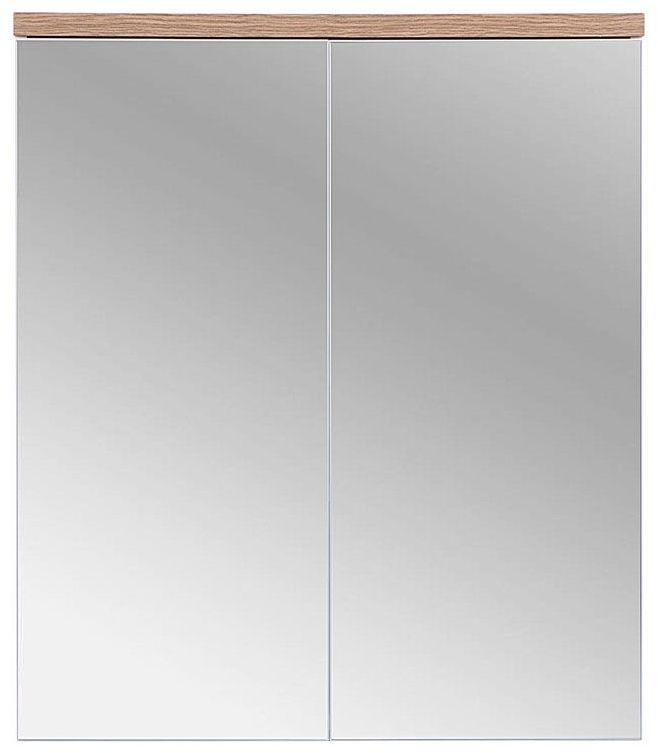 Szafka łazienkowa z lustrem Marsylia 6X 60 cm - Biały
