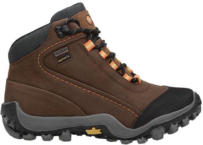 Trzewiki trekkingowe NIK 08-0048-007 Brązowe Buty SympaTex - Brązowy